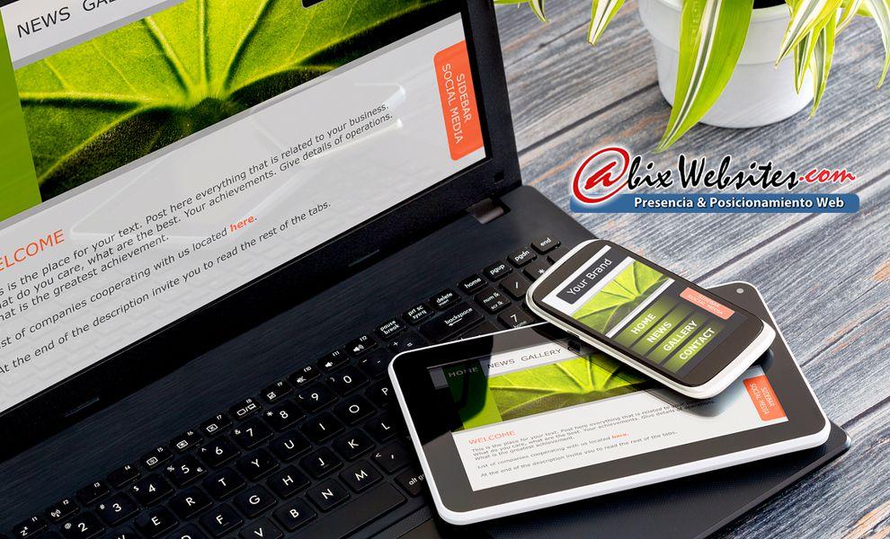 Abix Websites: Desarrollo de imagen corporativa
